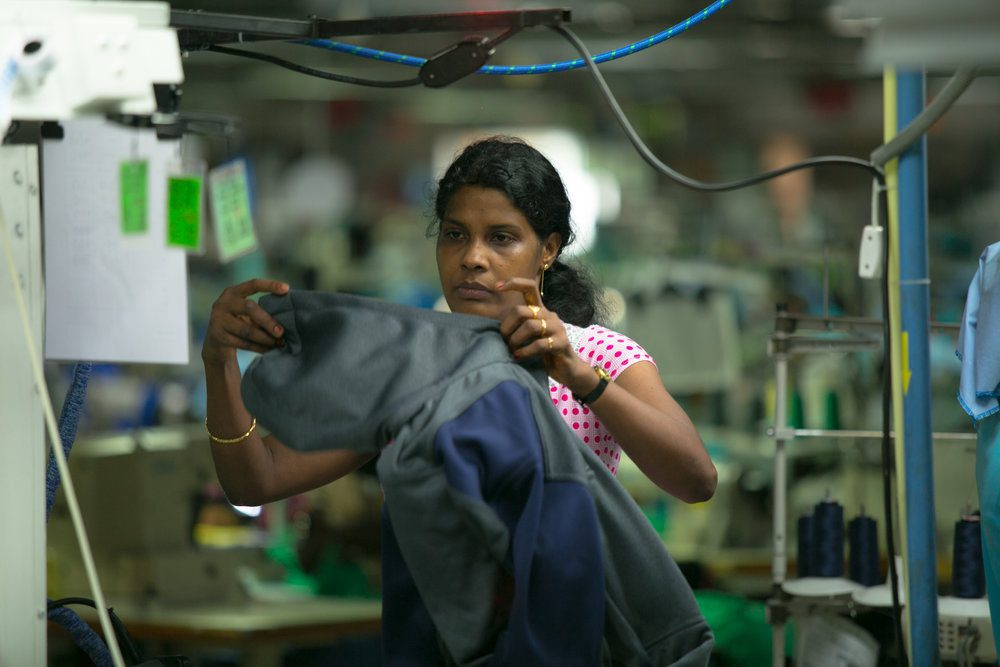 Fast fashion factory worker sustainability